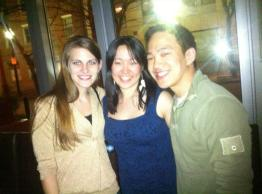 Boston, MA (March 2012): Triple birthday celebration with my birthday twins, Katie and Eric!