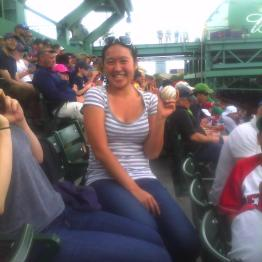 Fenway Park, Boston, MA (June 2012): Where I caught Big Papi's 399th home run. I couldn't believe it!