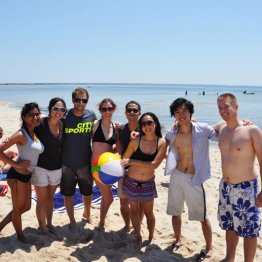 Provincetown, MA (July 2012): The annual trek of 100+ friends who head to PTown to party like crazy for a weekend. It's always the highlight of my summer.