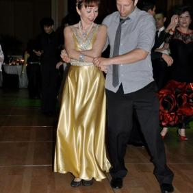 Singapore, Singapore (May 2012): Went to a crazy gala with my parents -- this is Jared dancing with my mom :)