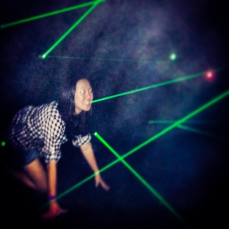Me in the maze