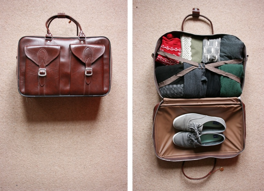 Nope, not at all how I pack, nor do I pack this neatly. But, I thought it would make you click on this post since it's a beautiful photo. Photo courtesy of hellojenuine on Flickr.