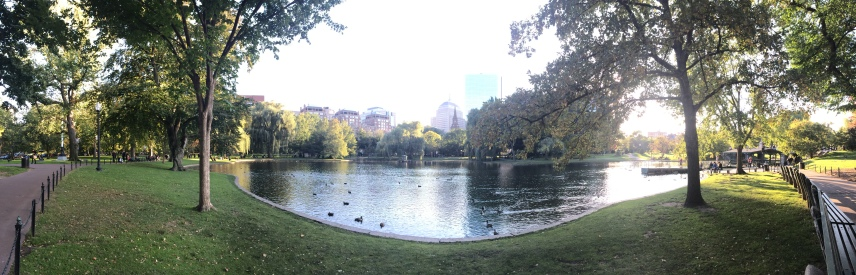 Oct 9: Boston Public Garden