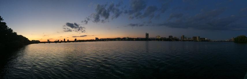 Oct 9: Charles River, Boston