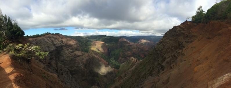 Oct 17: Waimea Canyon, Hawaii