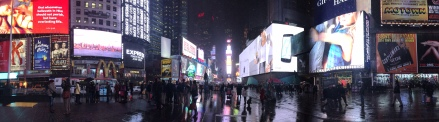 Dec 10: Times Square, New York City