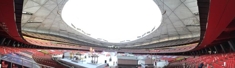Jan 24: Birds Nest Stadium, Beijing