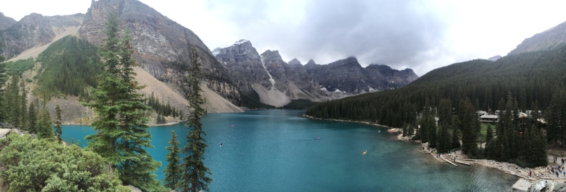 Aug 29: Moraine Lake, Alberta