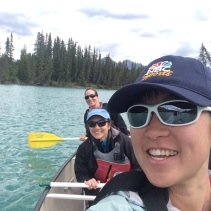 Aug 31: Canoeing in Banff National Park, Canada