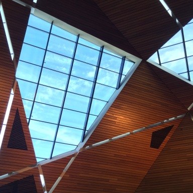 The beautiful McNamara Alumni Center in Minneapolis, where SRCCON was this year.