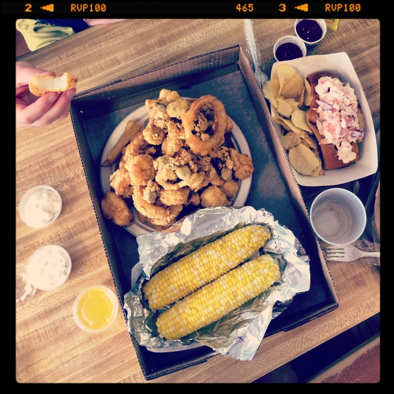 Fried amazingness at Woodman's of Essex