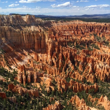 The size of the Bryce Canyon Amphitheater was insane.