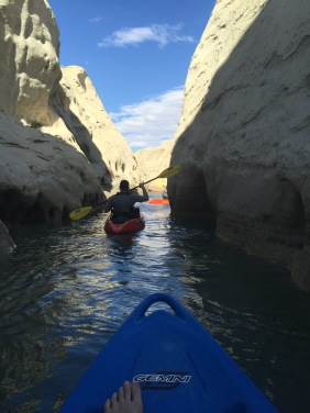 Going through the narrows