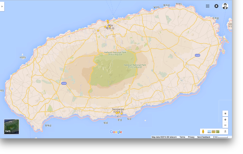Don't be fooled, this island has the population of Boston and has three times the land mass of Singapore.