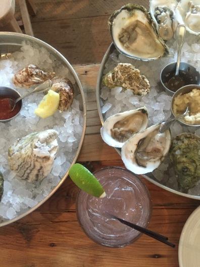 Oysters in Portland