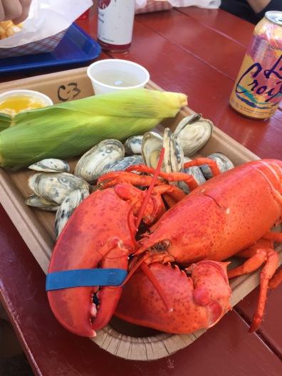 Lobsters in Freeport