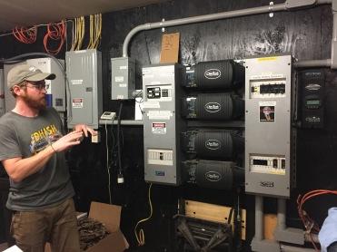Hydro controls at Poplar