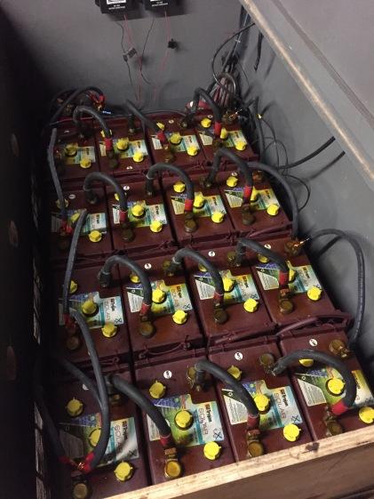 Batteries at Poplar