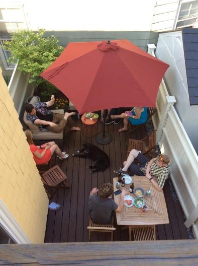 Deck party!