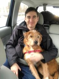 Kevin's new bestie, Fritz.