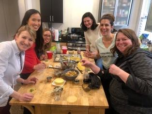 Making dumplings!