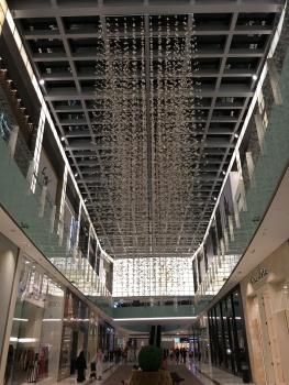 Art inside the Dubai mall