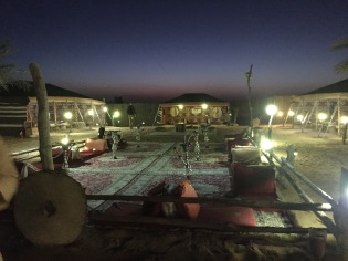 Touristy bedouin camp