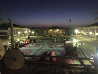 Touristy bedouin camp