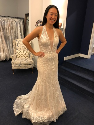 Felt like a red carpet dress at Mimi's Bridal